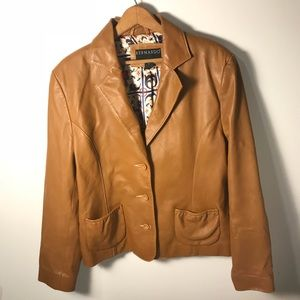 Bernardo women's leather jacket
